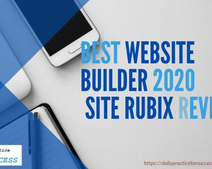 Best Website builder 2020 - Site Rubix Review