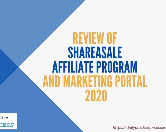 Review of Shareasale Affiliate Program and Marketing portal 2020