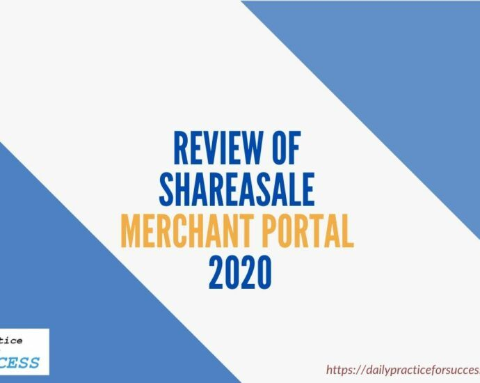 Review of Shareasale merchant portal 2020