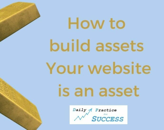 How to build Assets - Your website is an asset