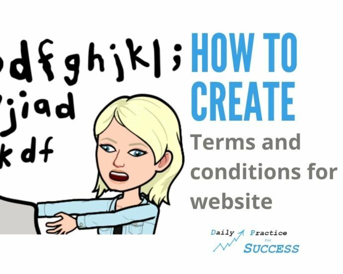 How to create terms and conditions for a website