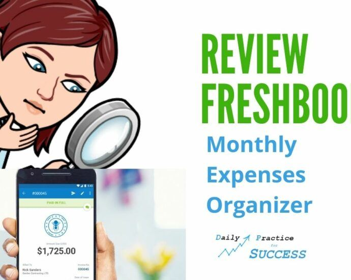 Review Freshbooks Monthly Expenses organizer