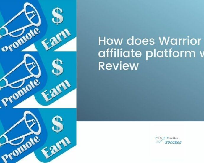 How does Warrior Plus affiliate platform work? Review