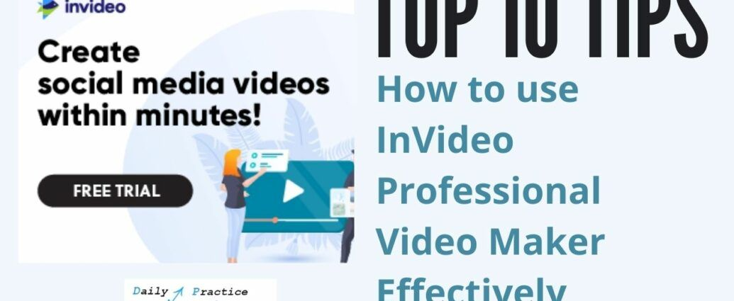 How to use InVideo professional video maker effectively