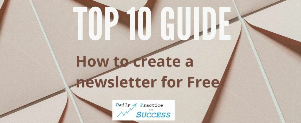 Top 10 Guide How to create a newsletter for free