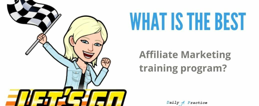 What is the best Affiliate marketing training program