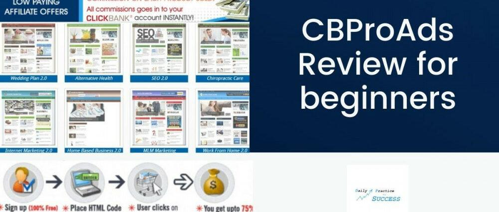 CBProAds Review for beginners