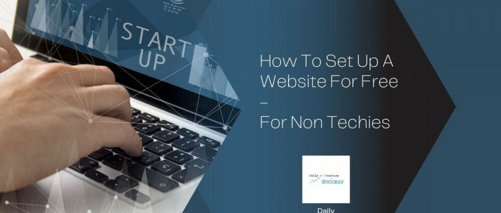 how-to-set-up-a-website-for-free-for-non-techies